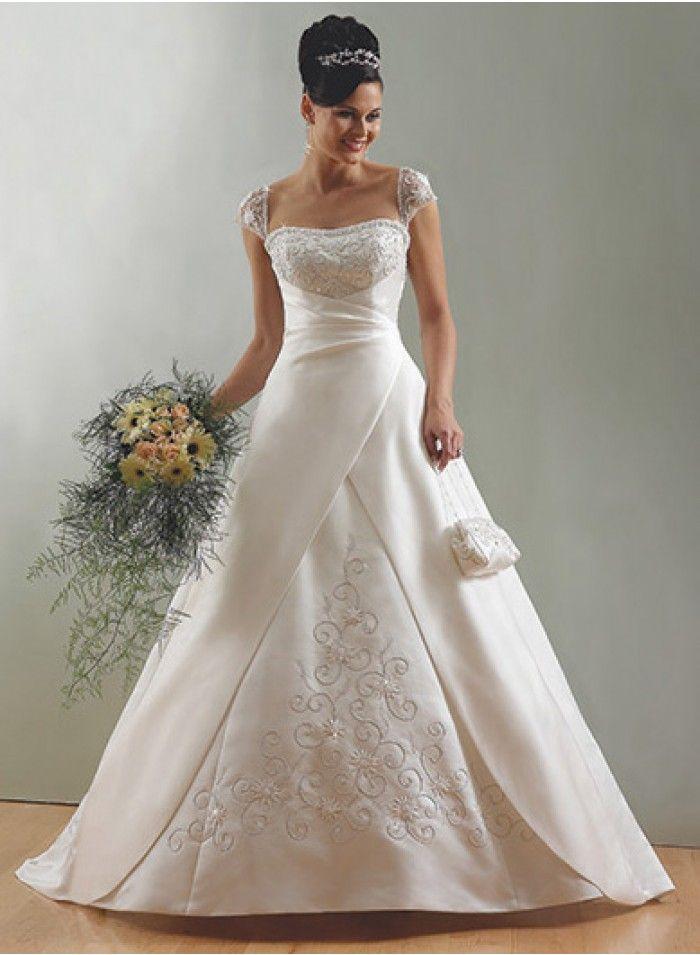 285 best Latest Wedding Dresses images on Pinterest | Short wedding ...