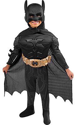 Toddler Boys Batman Costume Deluxe - The Dark Knight Rises