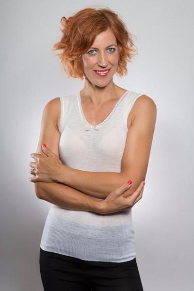 Merino Lace Vest Camisole Singlet - Smart Merino  - From Merino With Love - 100% Merino Made In New Zealand - https://www.smartmerino.co.nz/collections/womens