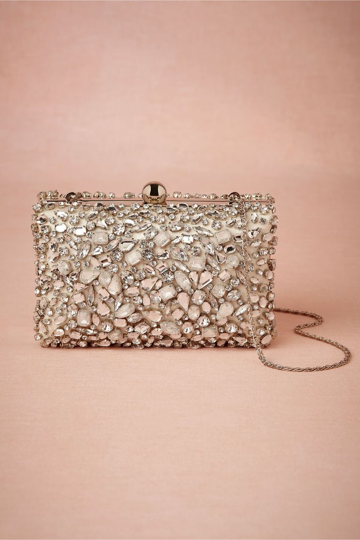 Crystallography Box Clutch in at BHLDN