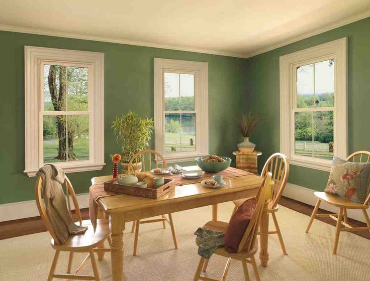 Most Popular Green For Dining Room