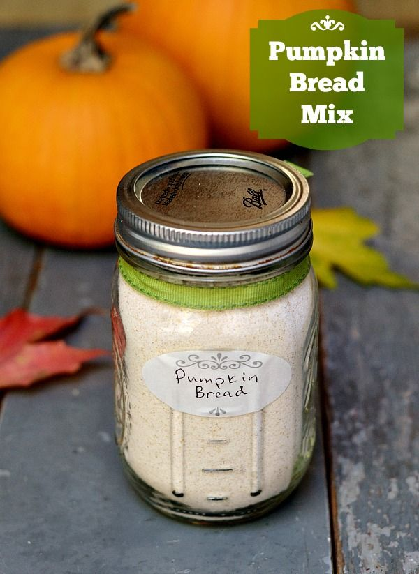Homemade pumpkin bread mix recipe, a great fall hostess gift | Real Food Real Deals from @realfoodrecipes
