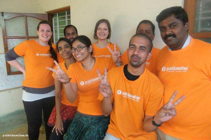 Unser Praktikawelten-Team in Indien