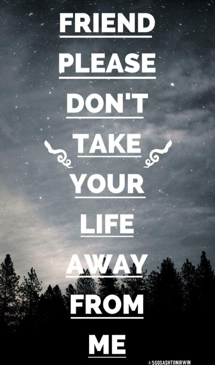 Friend, Please - TØP credit: @5sosashtonirwin<<< even though I wanna end it, I won't tonight