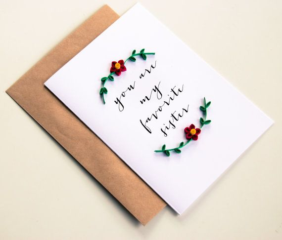 Best 25+ Birthday cards for sister ideas on Pinterest Christmas - card