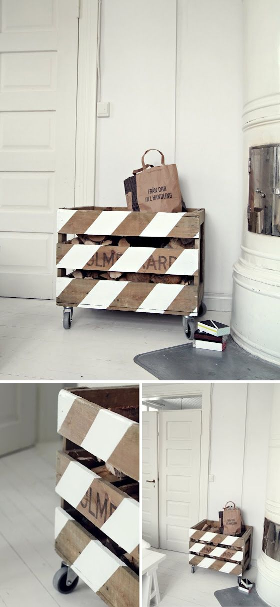 Rolling storage...great for outdoor toys!!