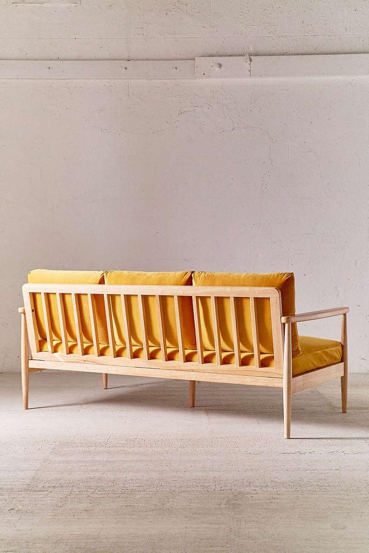 minna velvet sofa - Kaminmantel Hitzeschild