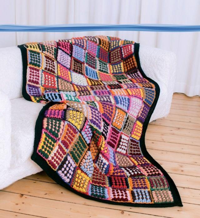 Wol bij de hand? Wikkelen maar! Of u nu een stola, poncho, sjaal, kussen, deken of tas wilt maken, met