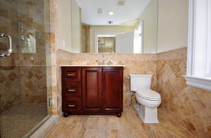Bathroom Vanities Jericho Turnpike jerusalem gold travertine bathroom c-line marble & granite, inc