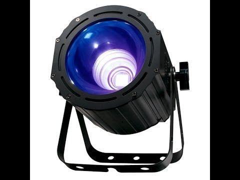 ADJ UV COB CANNON BLACKLIGHT - YouTube