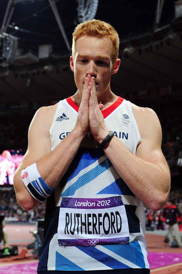 Proof That Greg Rutherford Is Officially The Hottest Ginger To Ever Exist