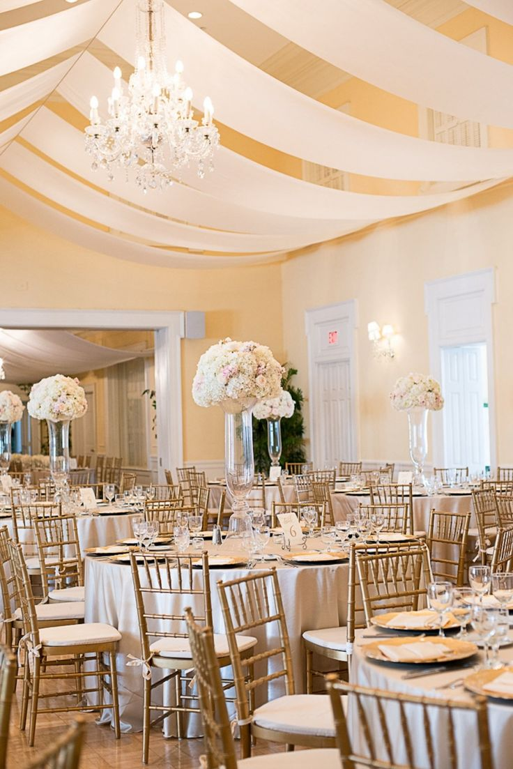 best wedding reception halls in nyc%0A Tampa Yacht and Country Club Wedding  Elegant Gold  Champagne  Ivory and  Blush Waterfront