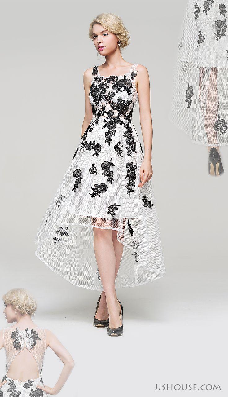Define posh elegance on your Homecoming night in this fashion forward dress! #JJsHouse