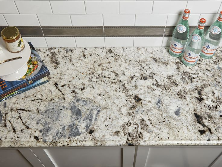 Arizona Tile Blue Galaxy Is Quarried From A Bedrock Quarry In India, With A  Creamy White Background And Large Blue Gray Crystals, This Granite Has A  Unique ...