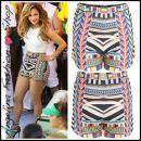 Short azteque imprimé tribal ethnique chic JENNIFER LOPEZ J-LO http://angelina-fashion-shop.com