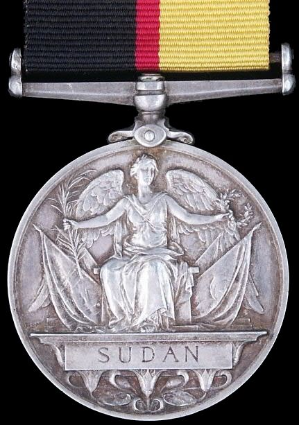The Queen's Sudan Medal 1896 - 1898