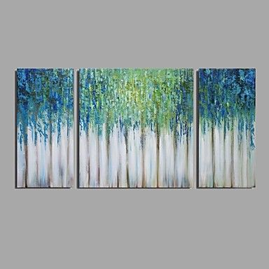 Hand-Painted+Modern+Abstract+Oil+Painting+For+Home+Decoration+With+Stretched+Frame+Ready+To+Hang+–+AUD+$+131.67