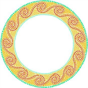 mosaic templates for kids - 17 best images about mosaics on pinterest oval coffee