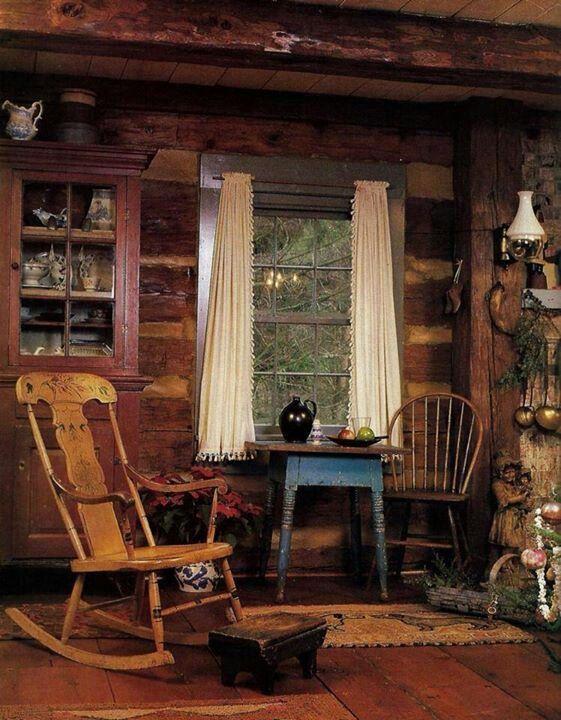 268 Best Rustic Cabin Interiors Images On Pinterest Log