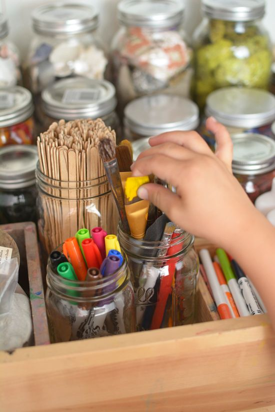 10 Art Secrets Every Parent Should Know plus some great background pics of organizational strategies.