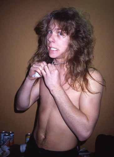 Young James Hetfield.
