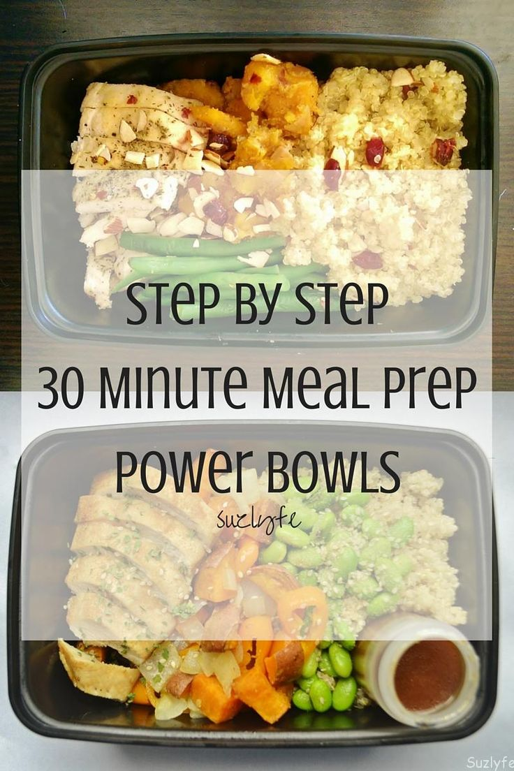 This 30 minute step by step meal prep guide tells you exactly how to make a complete nutrition, whole food power bowl. Running Coaches Corner Link Up.