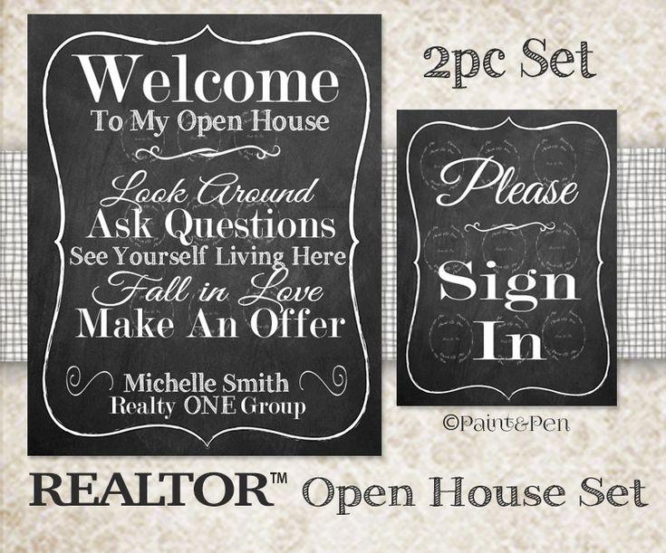 Best 25 Open House Signs Ideas On Pinterest Open House Estate