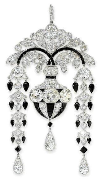 Cartier brooch c. 1910