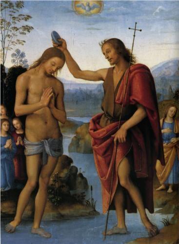 Baptism of Christ  - Pietro Perugino
