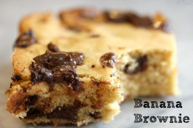 Banana Brownie - Powered by @ultimaterecipe