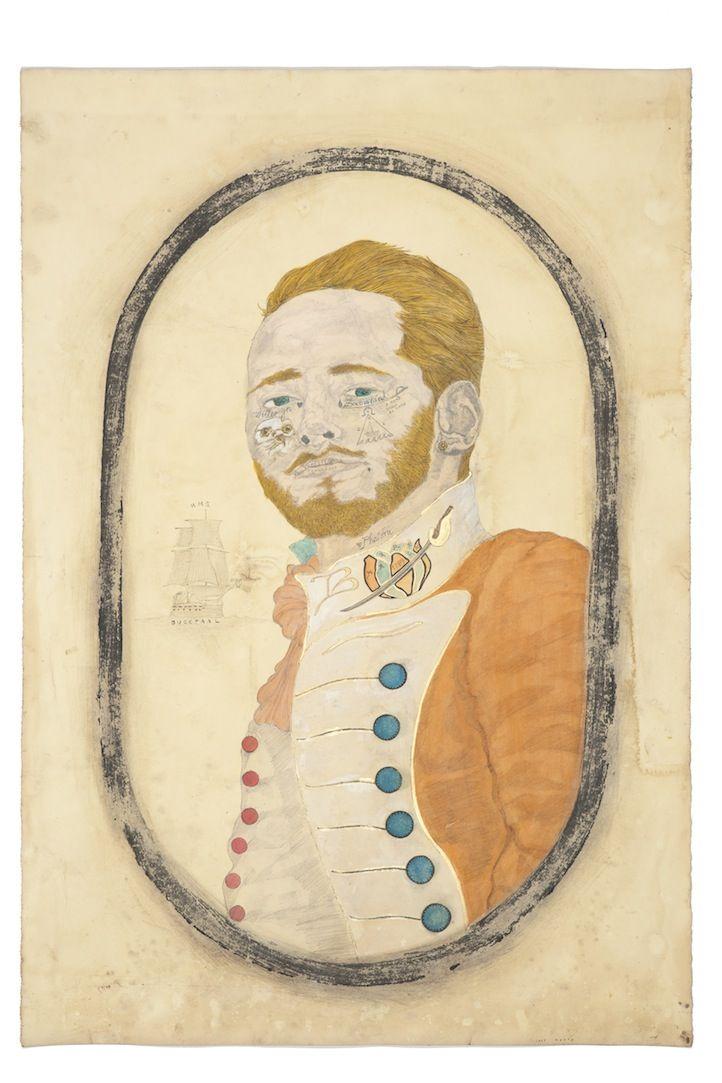 Antoon DeVries by Frohawk Two Feathers  http://morganlehmangallery.com/