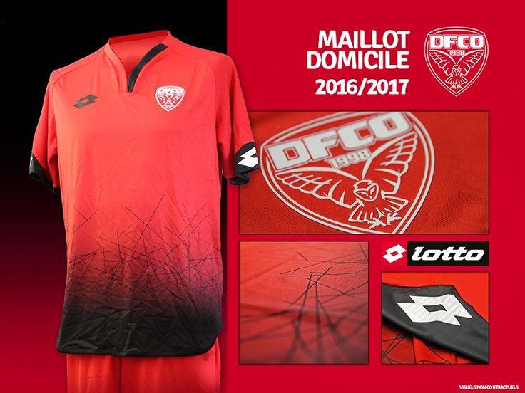 Camisas do Dijon FCO 2016-2017 Lotto | Mantos do Futebol Camisas de Futebol