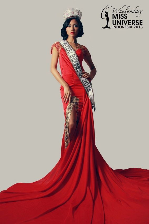 Miss Universe 2013 Winner | Whulandary Herman - Miss Indonesia Universe 2013 (16 photos)
