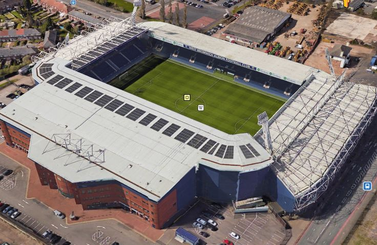 The Hawthorns - Home of West Bromwich Albion FC