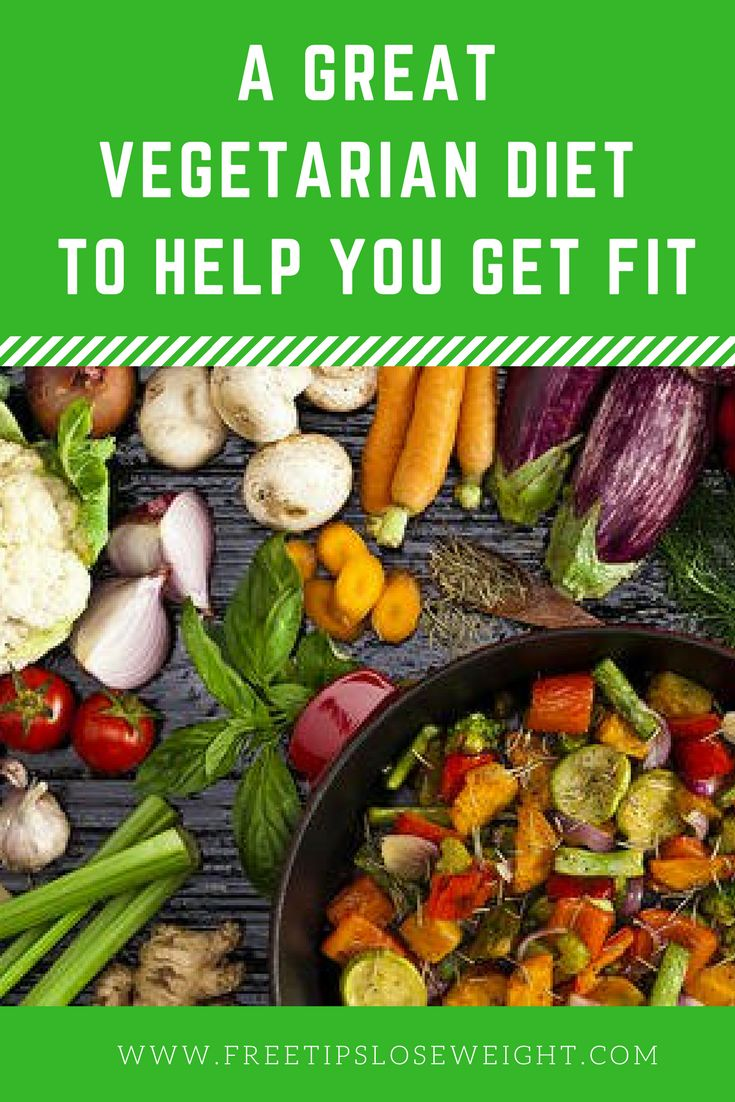 Many people assume that if you are on a vegetarian diet, weight loss won't be a problem. Who says a vegetarian can't be overweight? Think about this. Learn More Here.