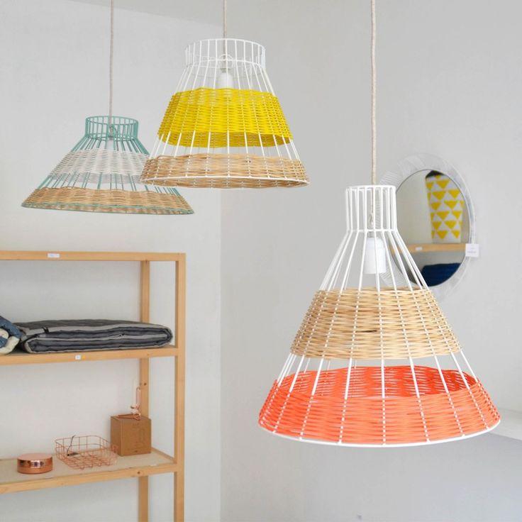 Les suspensions STRAW imaginées par Isabelle Gilles et Yann Poncelet pour la marque SERAX. COLONEL SHOP, décoration et mobilier design à Paris