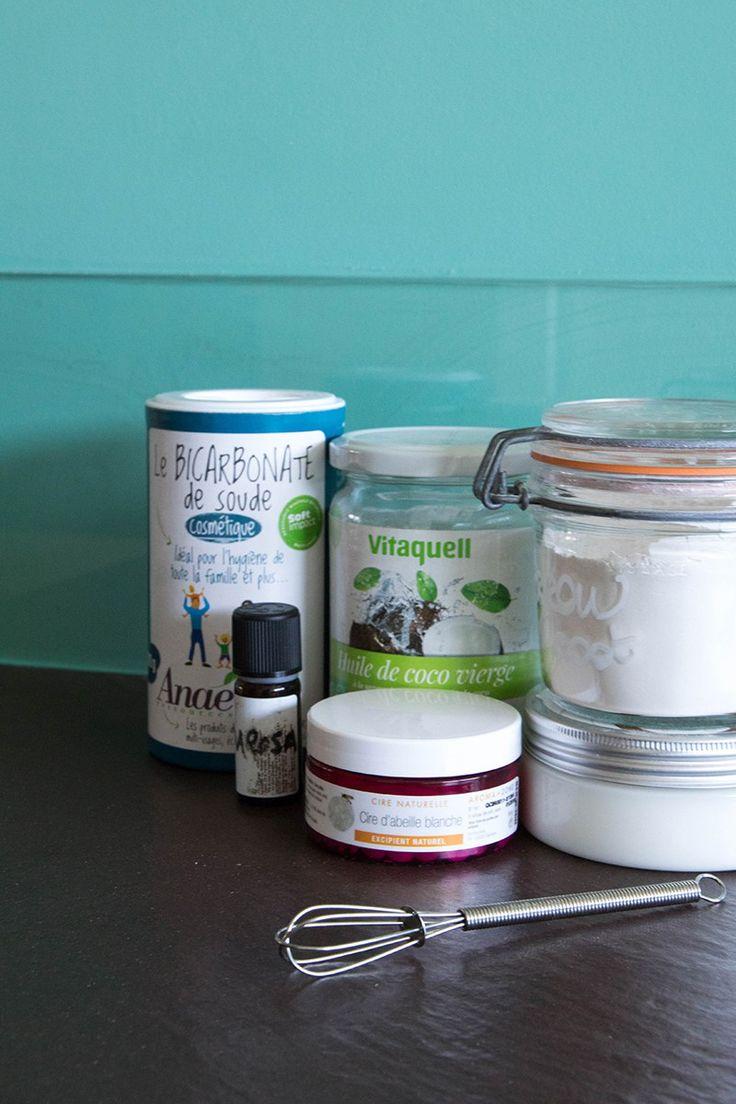 DIY déo crème naturel, les ingrédients!