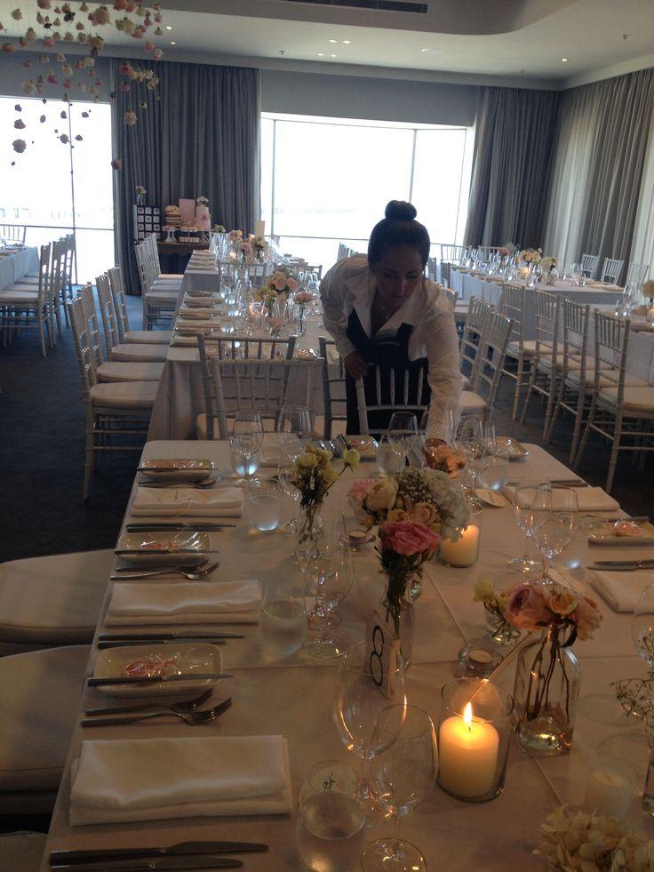 Harbour Room, RMYS lunch wedding