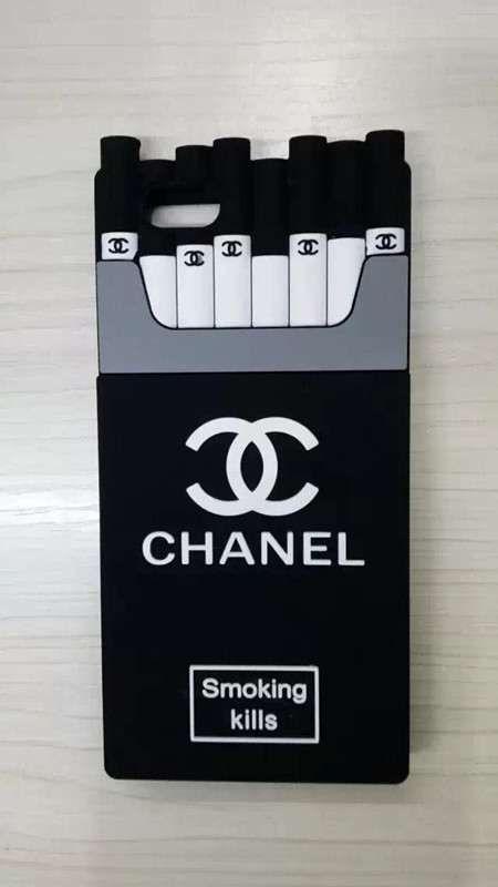 iphone7/6sケースシャネル風タバコ