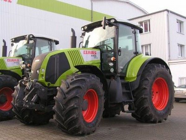 Tracteur Claas - Axion 820