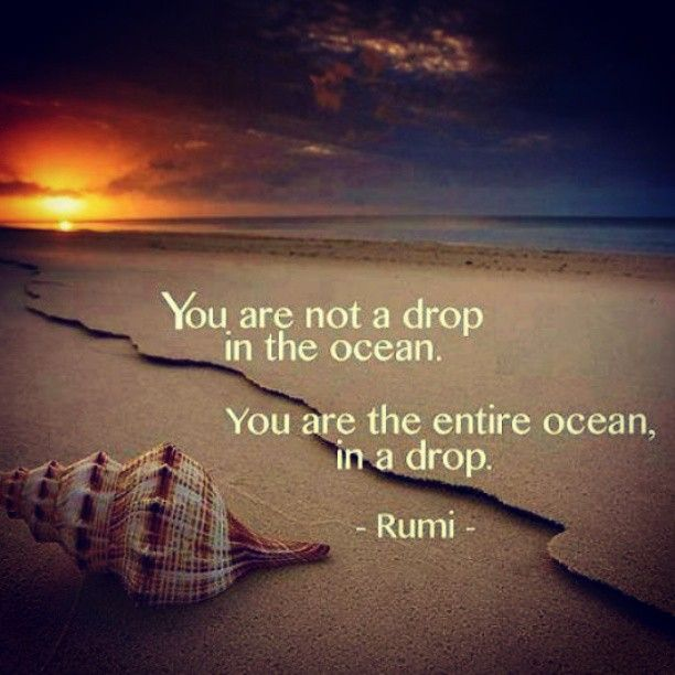 Rumi Quote: Inspirational Stuff Good For The Heart