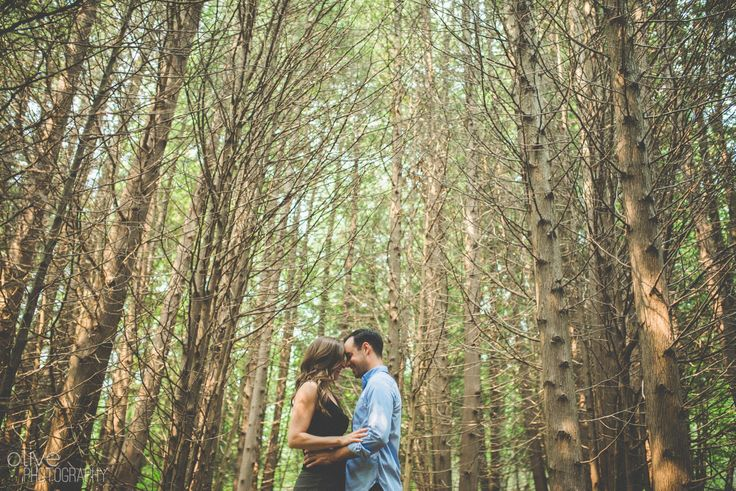 Forest Engagement Session | Photography: Olive Photography | Toronto & GTA wedding photographer | www.olivephotography.ca