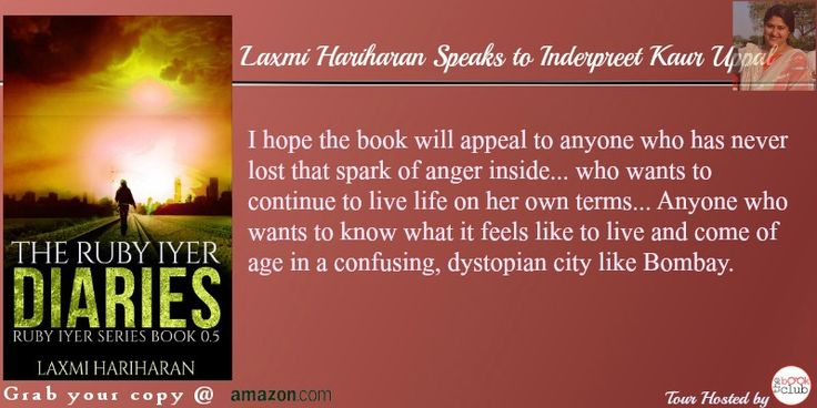 #Interiew Interesting questions. Inderpreet Kaul Uppal  has a chat with Laxmi Hariharan  @laxmi  @indywrites http://inderpreetkaur.blogspot.in/2015/11/author-answers-with-laxmi-hariharan.html