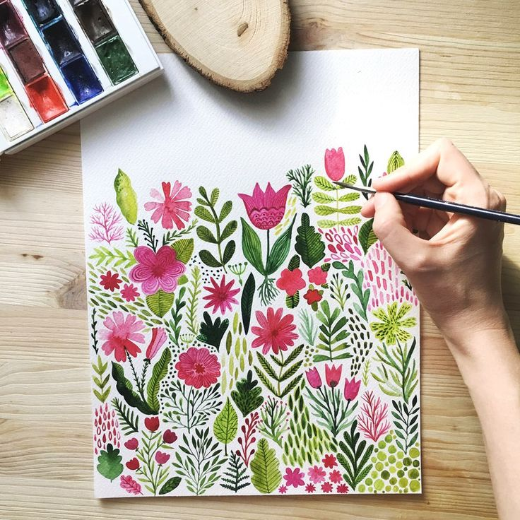 Oh my so beautiful, with spring vibes! Markovka ART