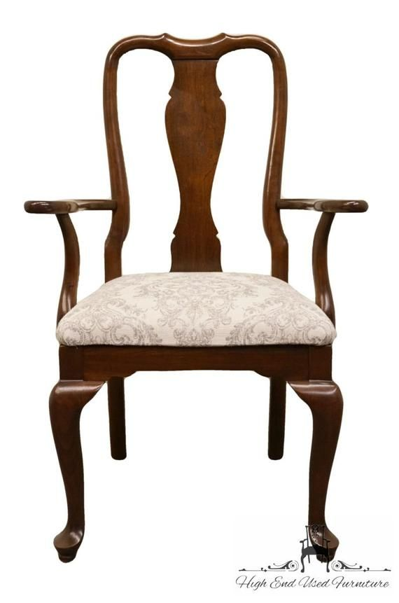 Ethan Allen Georgian Court Solid Cherry Queen Anne Style Dining