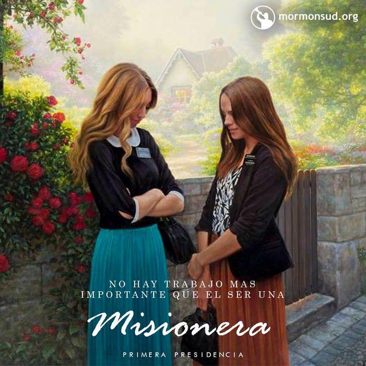 No hay trabajo más importante que el ser una misionera. Primera Presidencia Visita mormonsud.org