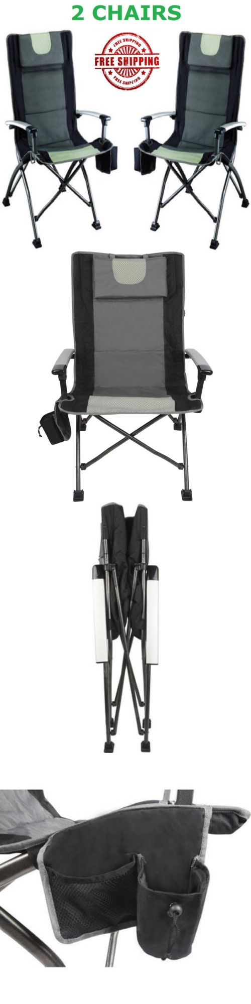 Camping Furniture 16038 Portable Folding Camping Chair Outdoor Folding Chairs Fishing Beach High Back Buy