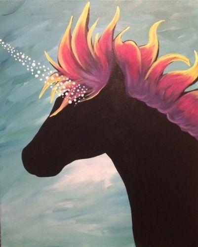 Paint Nite Unicorn Dream Trending Paintings   Beautiful Cases For Girls