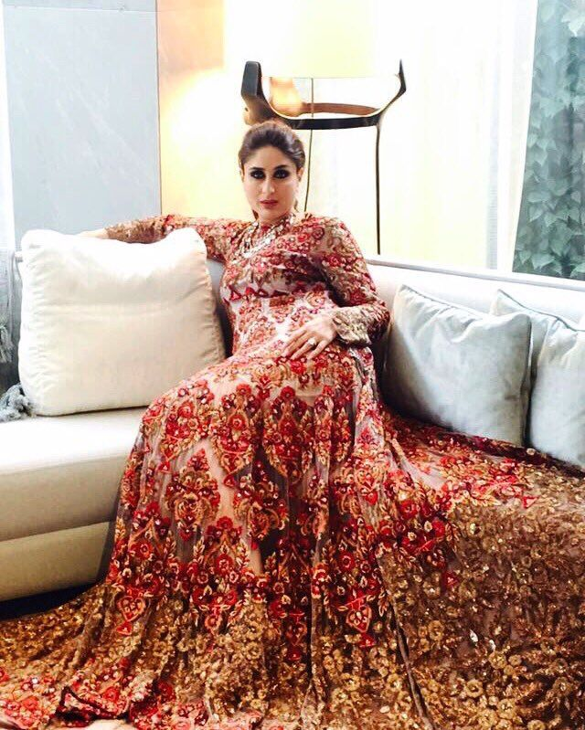Kareena Kapoor for Manish Malhotra.