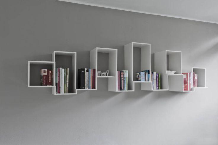 Skyline bookshelve : Opbergen van Nick Ronde Ontwerpen